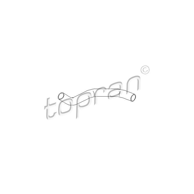 Tuyau, ventilation de carter-moteur TOPRAN [721 793]