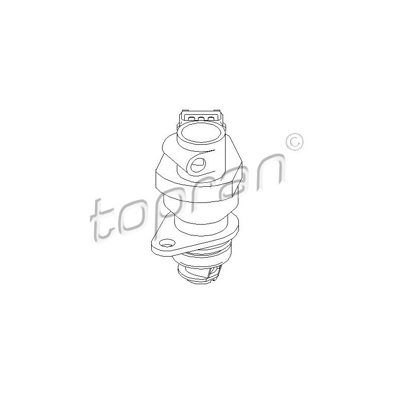 Capteur, vitesse TOPRAN [721 912]