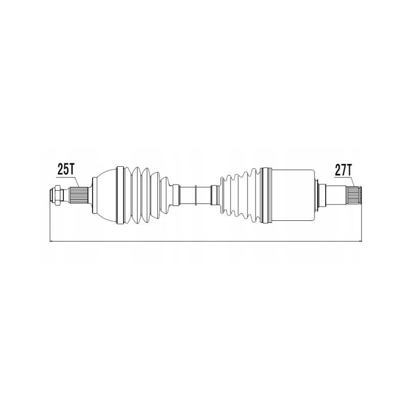 Arbre de transmission SAMAXX [NPW-ME-018]