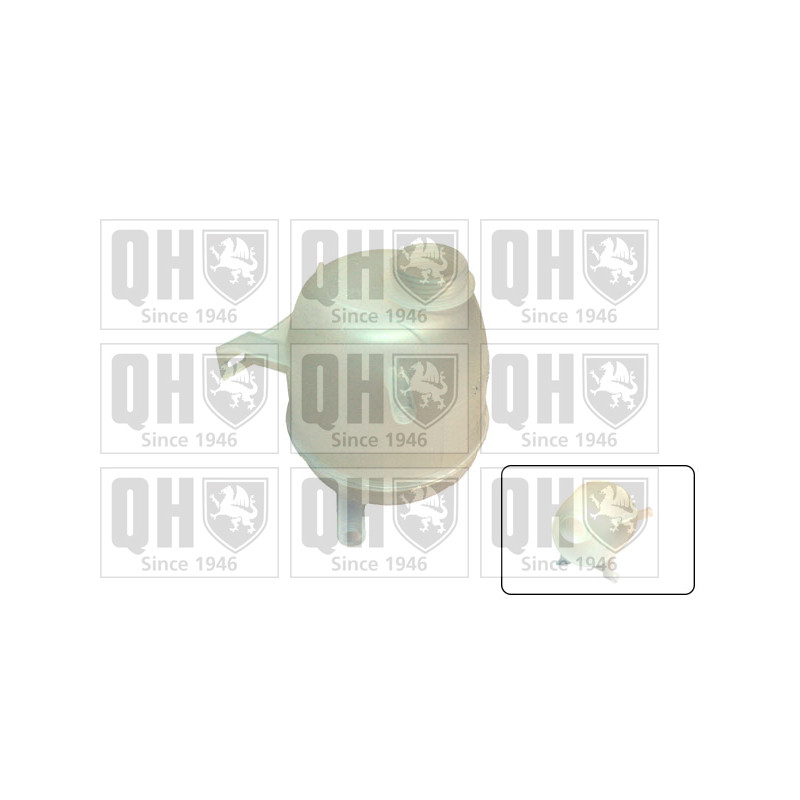 Vase d'expansion, liquide de refroidissement QUINTON HAZELL [QVE540]