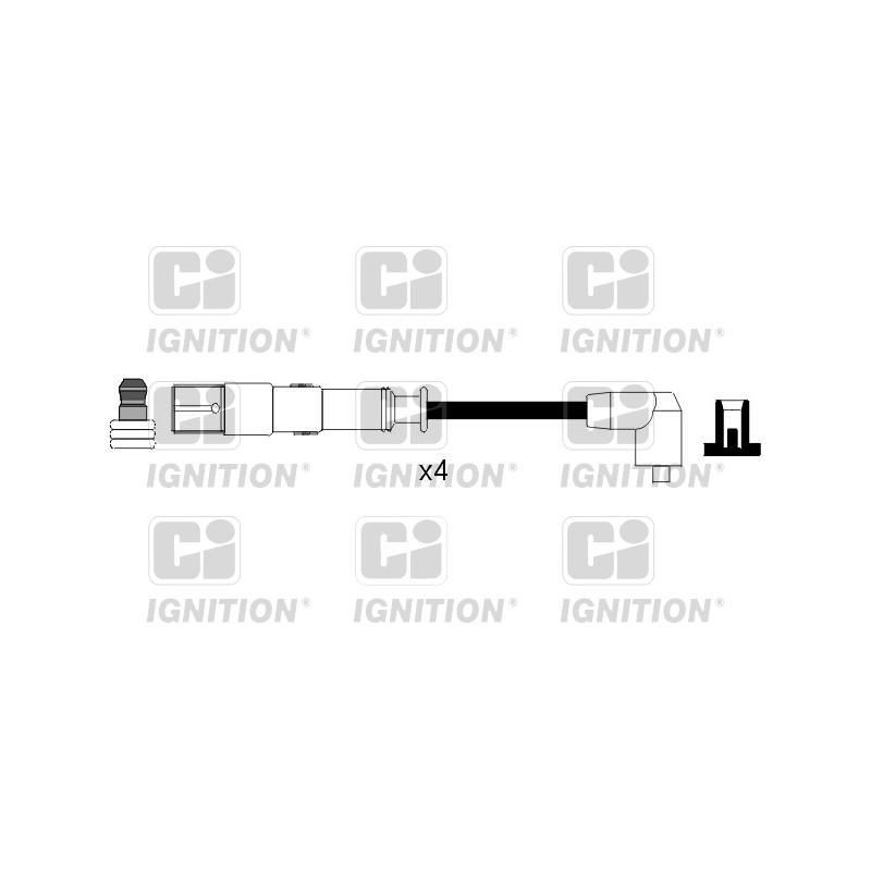 Kit de câbles d'allumage QUINTON HAZELL [XC1114]