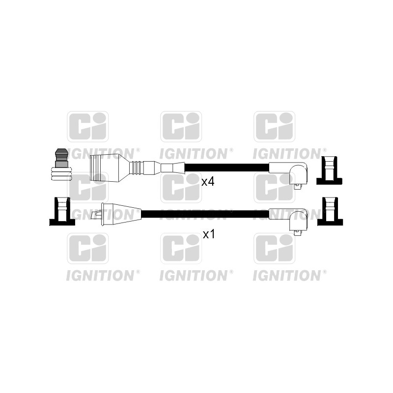 Kit de câbles d'allumage QUINTON HAZELL [XC175]