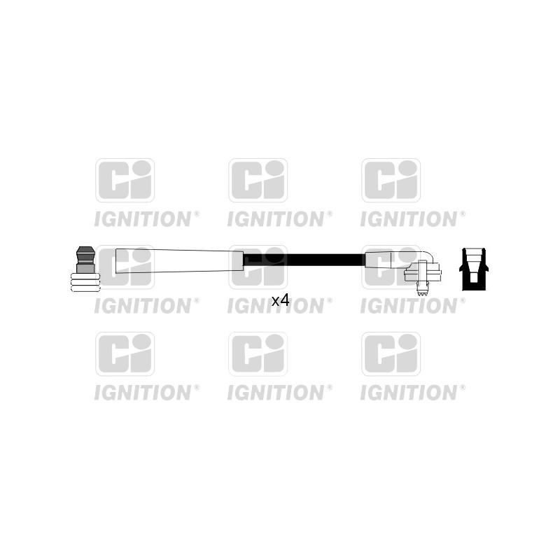 Kit de câbles d'allumage QUINTON HAZELL [XC401]