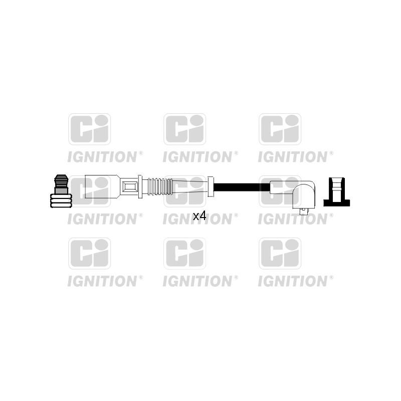 Kit de câbles d'allumage QUINTON HAZELL [XC815]