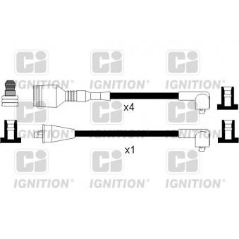 Kit de câbles d'allumage QUINTON HAZELL XC964 pour ALFA ROMEO 33 1,3 - 79cv