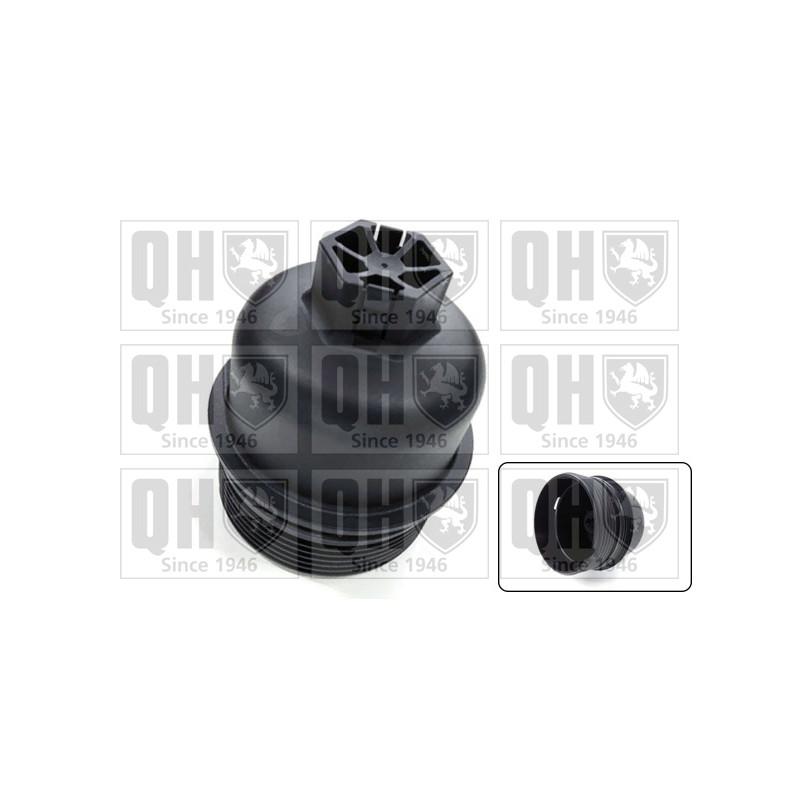 Couvercle, boîtier du filtre à huile QUINTON HAZELL [QOC1021]
