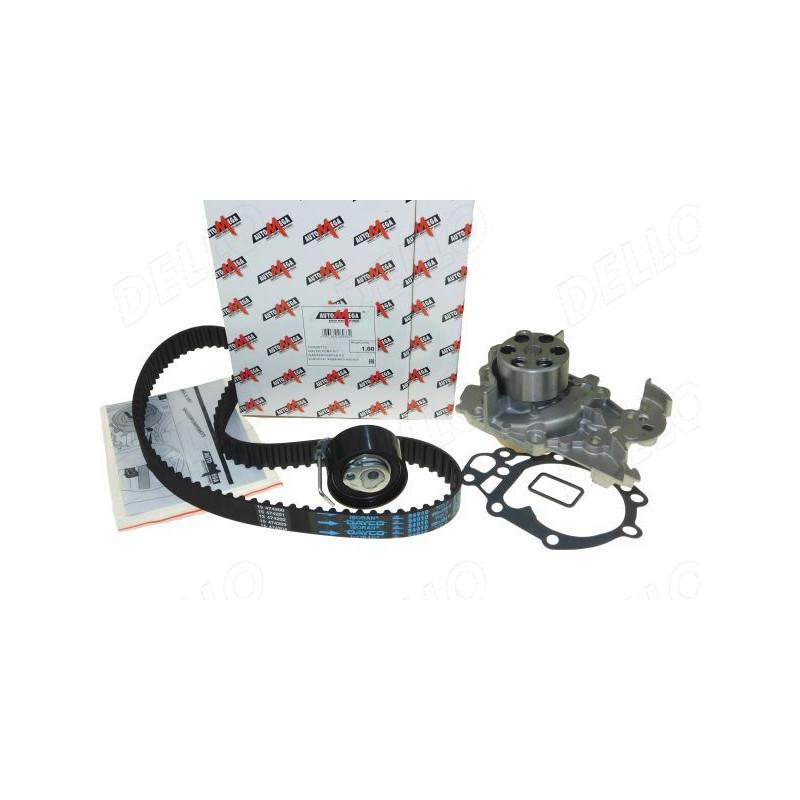 Pompe à eau + kit de courroie de distribution AUTOMEGA [160000710]