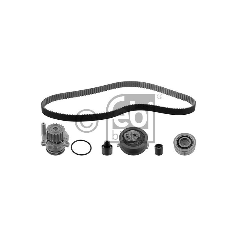 kit de distribution pompe eau skoda octavia 1z3 2 0 tdi 110cv partauto. Black Bedroom Furniture Sets. Home Design Ideas