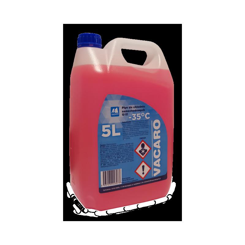 Liquide de refroidissement G12 - 5 Litres VACARO [VACG1205]