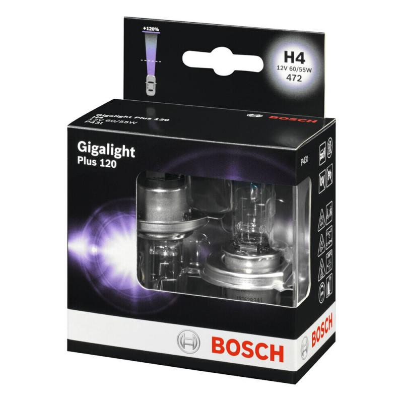 Lot de 2 Ampoules, projecteur longue portée BOSCH [1 987 301 106]