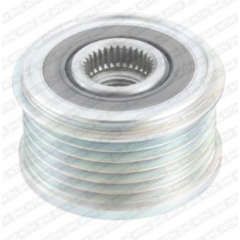Poulie roue libre, alternateur SNR GA759.04 pour PEUGEOT PARTNER 1,6 HDI - 75cv