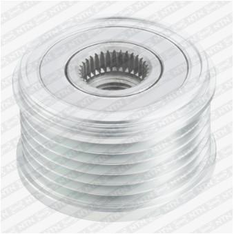 Poulie roue libre, alternateur SNR GA759.05 pour PEUGEOT PARTNER 1,6 HDI - 75cv