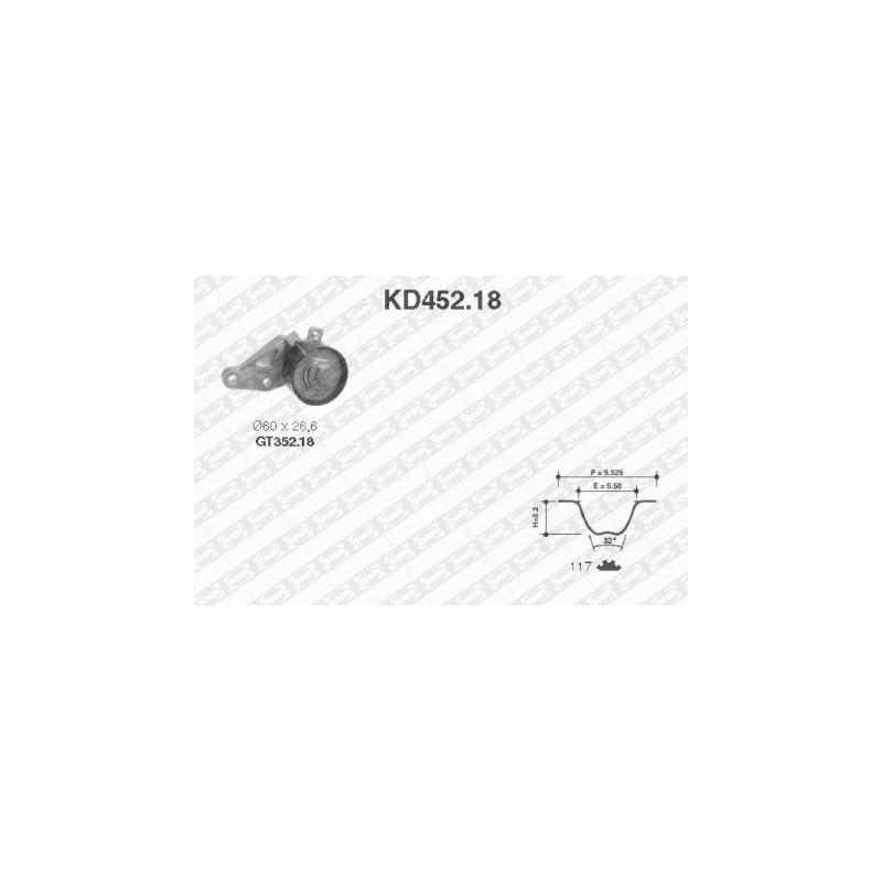 Kit de distribution SNR [KD452.18]