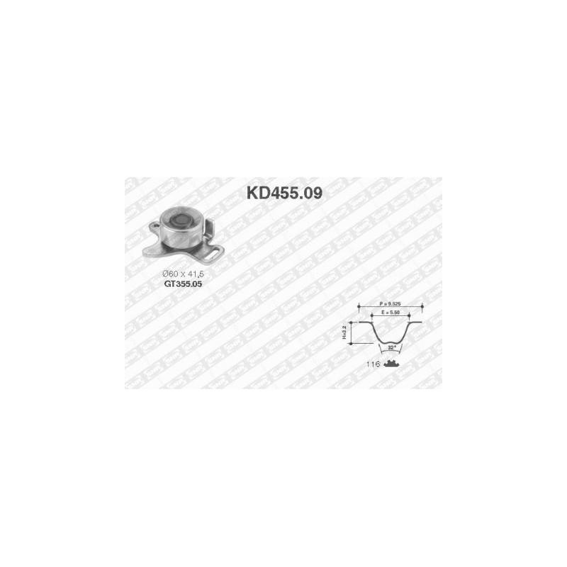 Kit de distribution SNR [KD455.09]