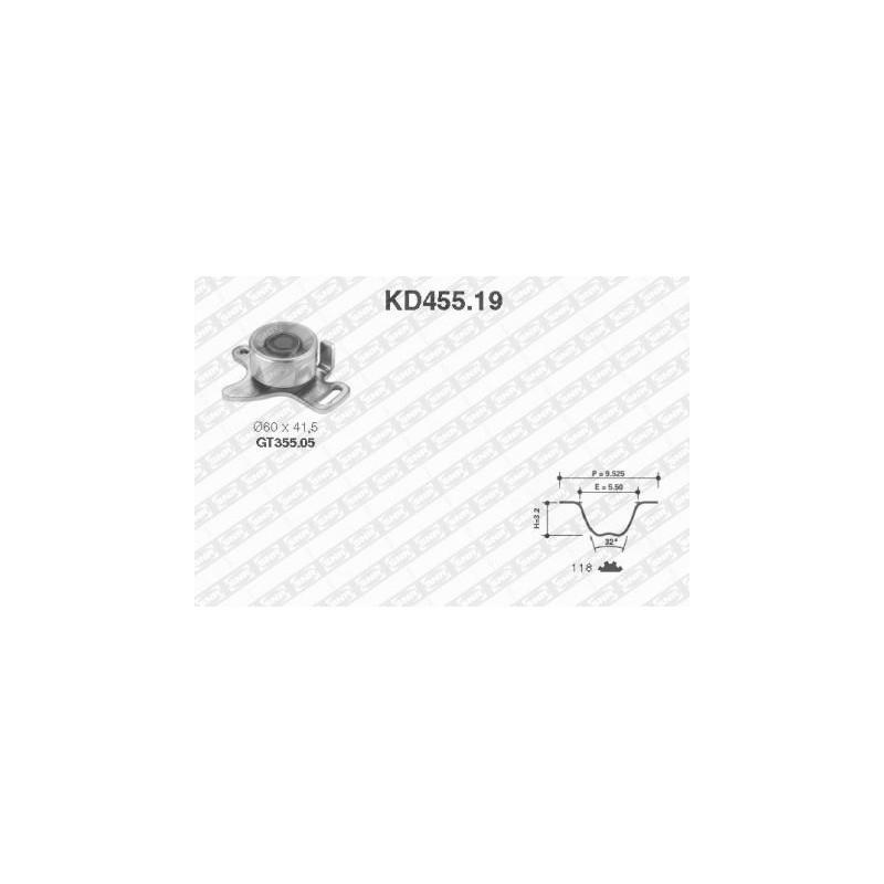 Kit de distribution SNR [KD455.19]