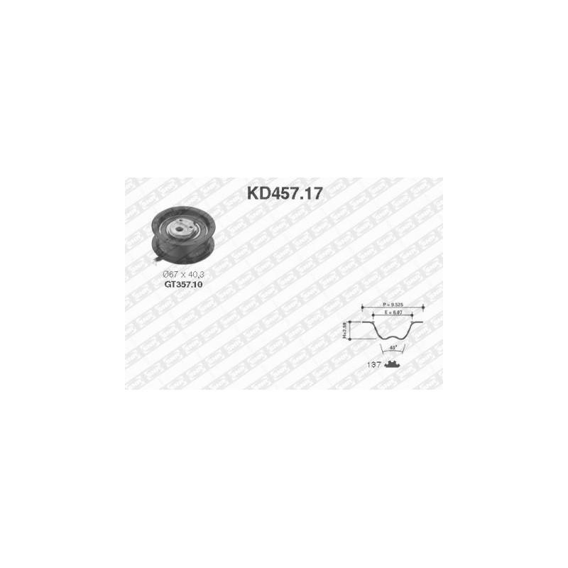 Kit de distribution SNR [KD457.17]