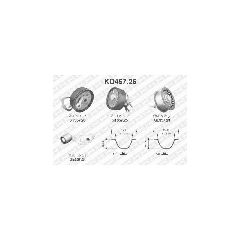 Kit de distribution SNR [KD457.26]