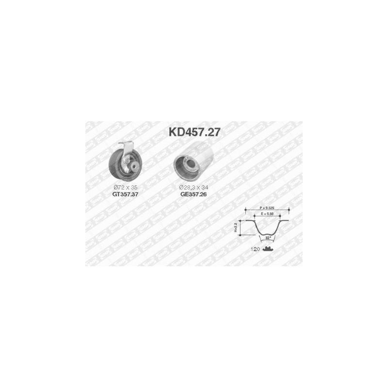 Kit de distribution SNR [KD457.27]