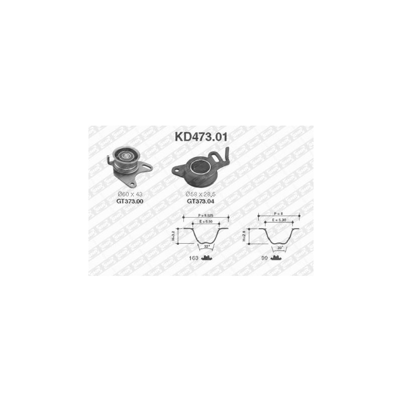 Kit de distribution SNR [KD473.01]