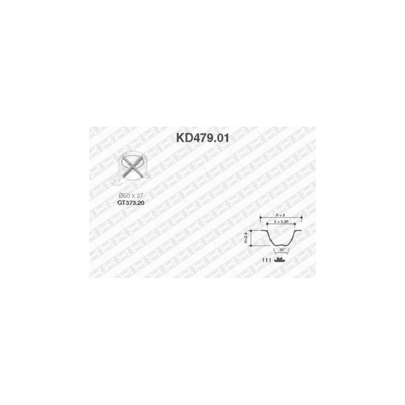 Kit de distribution SNR [KD479.01]
