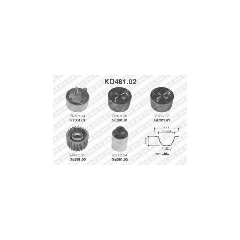 Kit de distribution SNR [KD481.02]