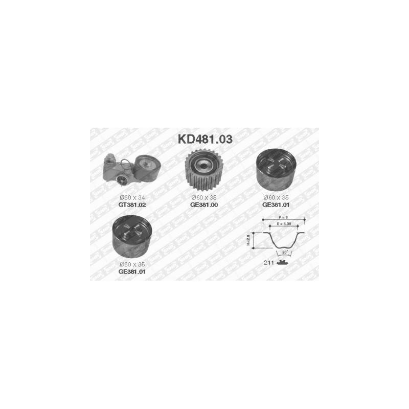 Kit de distribution SNR [KD481.03]