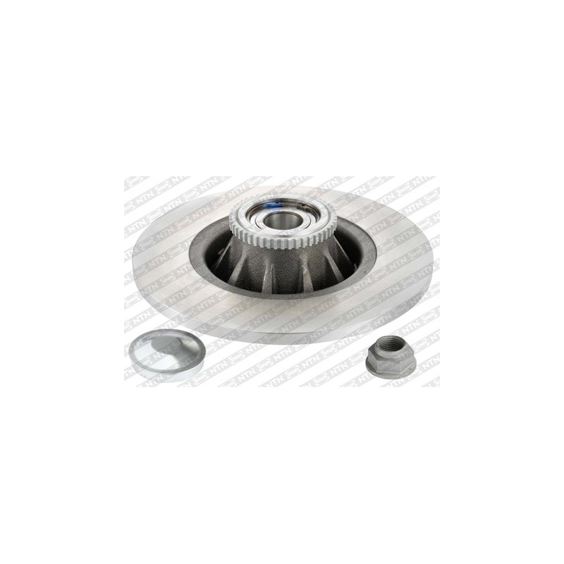 Jeu de 2 disques de frein arrière SNR [KF155.70U]