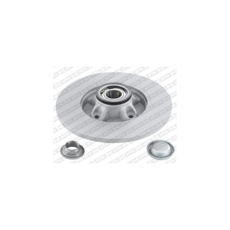 Jeu de 2 disques de frein arrière SNR [KF159.62U]