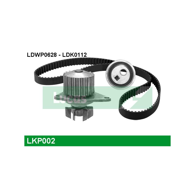 kit de distribution pompe eau peugeot 206 a trois volumes 1 4 75cv partauto. Black Bedroom Furniture Sets. Home Design Ideas
