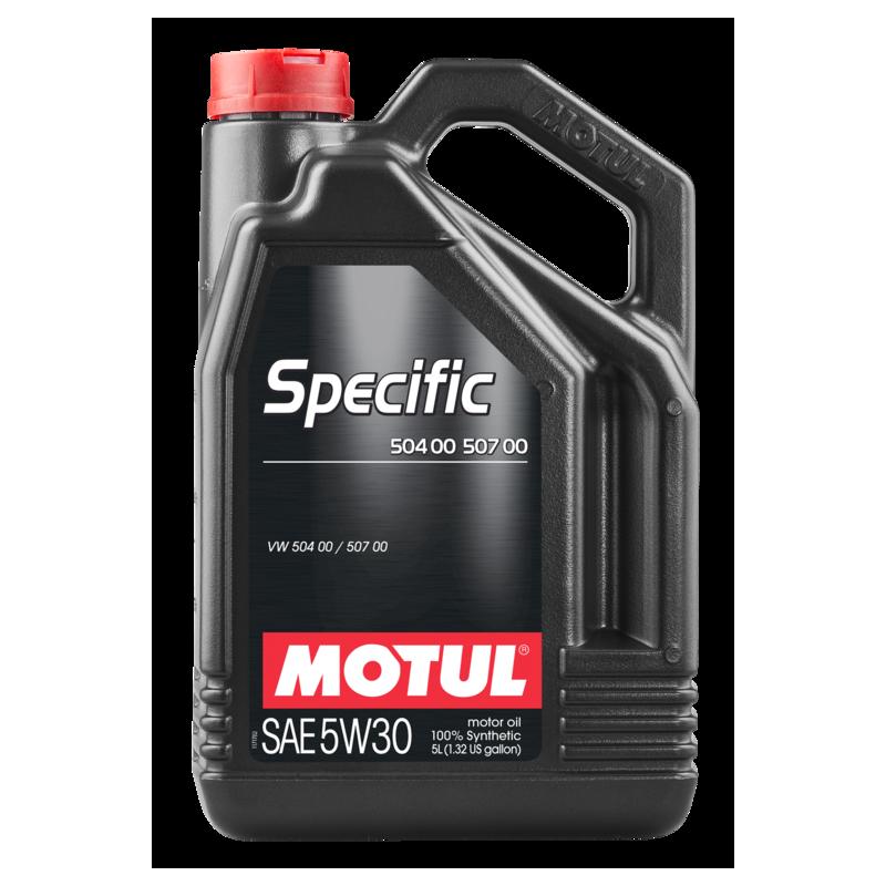 Huile moteur Specific 504.00-507.00 - 5 Litres MOTUL [106375]
