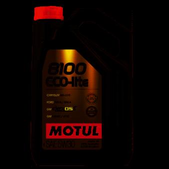 Huile moteur 8100 Eco-lite 5W30 - 4 litres MOTUL 108213