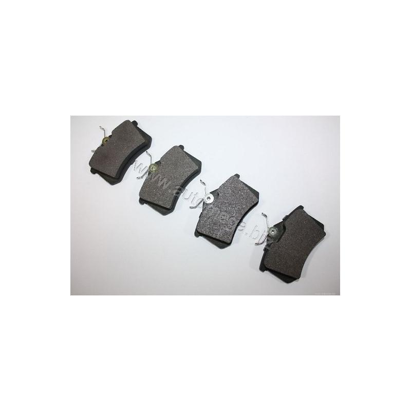 Jeu de 4 plaquettes de frein arrière AUTOMEGA 120050610 pour RENAULT MEGANE 2,0 DCI - 160cv