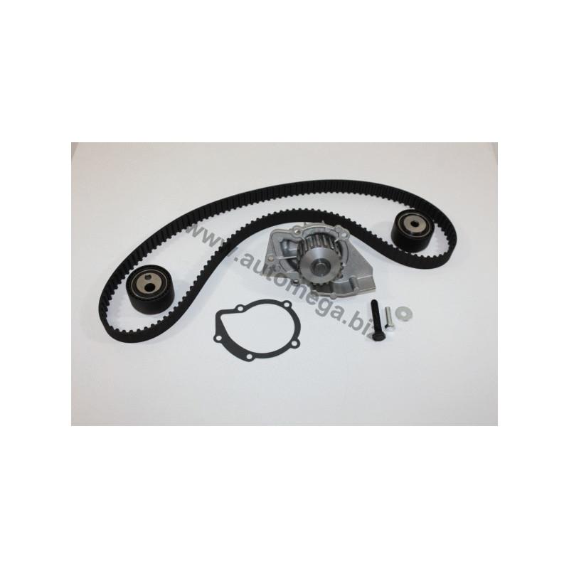 Pompe à eau + kit de courroie de distribution AUTOMEGA [160004210]