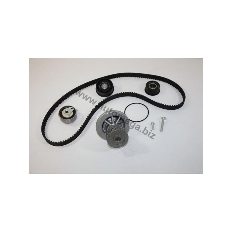 Pompe à eau + kit de courroie de distribution AUTOMEGA [160004910]