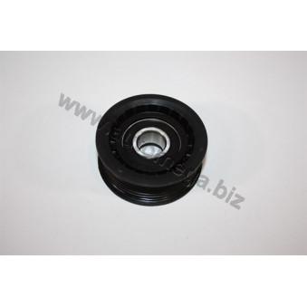 Poulie renvoi/transmission, courroie trapézoïdale à nervures AUTOMEGA 160064910 pour VOLKSWAGEN PASSAT 2,5 TDI - 150cv