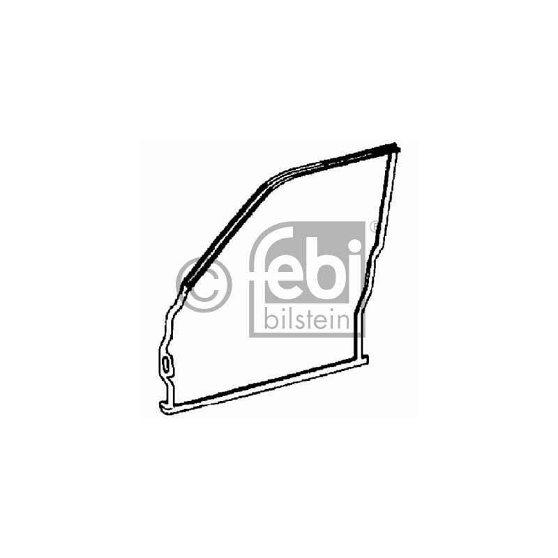 joint vitre de porte mercedes benz classe c w202 c 200 d 88cv partauto. Black Bedroom Furniture Sets. Home Design Ideas
