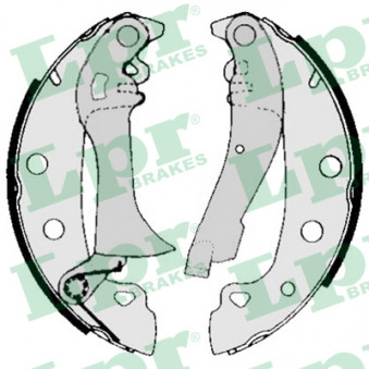 Jeu de mâchoires de frein LPR 00720 pour RENAULT R18 1,6 - 79cv
