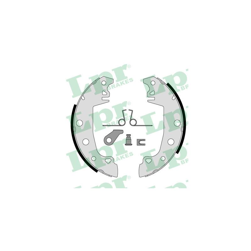 Jeu de mâchoires de frein LPR 00771 pour RENAULT R18 1,6 - 79cv