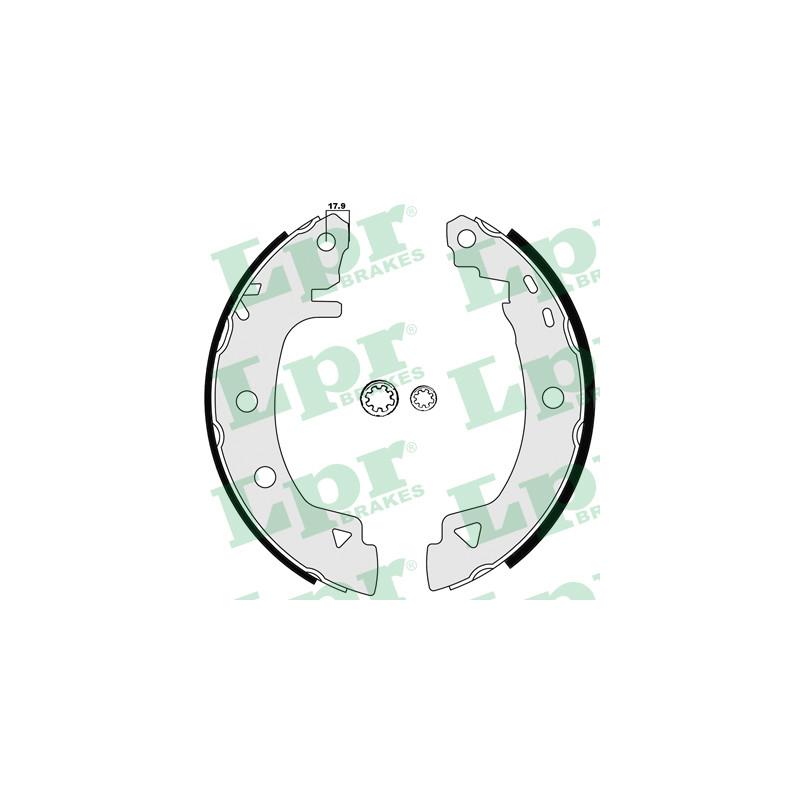 Jeu de mâchoires de frein LPR 04920B pour ALFA ROMEO 33 1,3 - 79cv