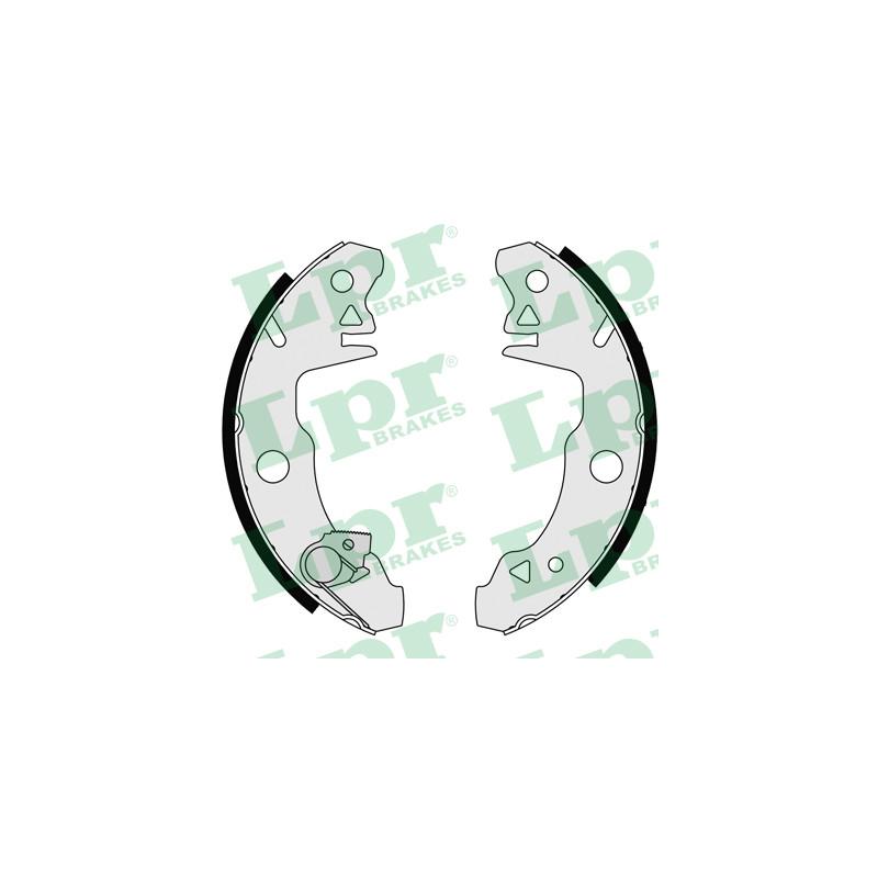 Jeu de mâchoires de frein LPR 05980 pour RENAULT R18 1,6 - 73cv