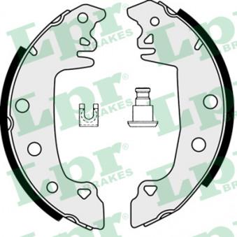 Jeu de mâchoires de frein LPR 07520 pour PEUGEOT 305 1,5 - 73cv