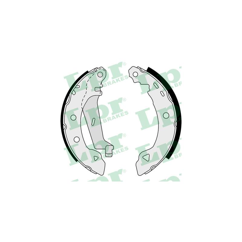 Jeu de mâchoires de frein LPR 07530 pour ALFA ROMEO 33 1,3 - 79cv