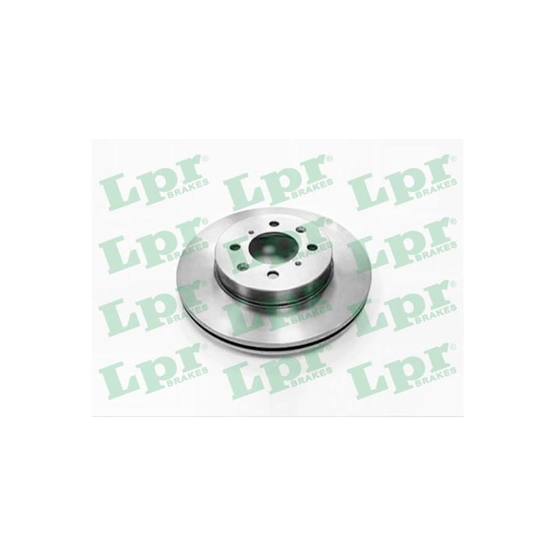 Jeu de 2 disques de frein avant LPR [A4181V]