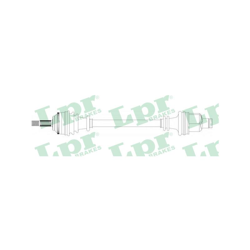 Arbre de transmission LPR [DS39135]