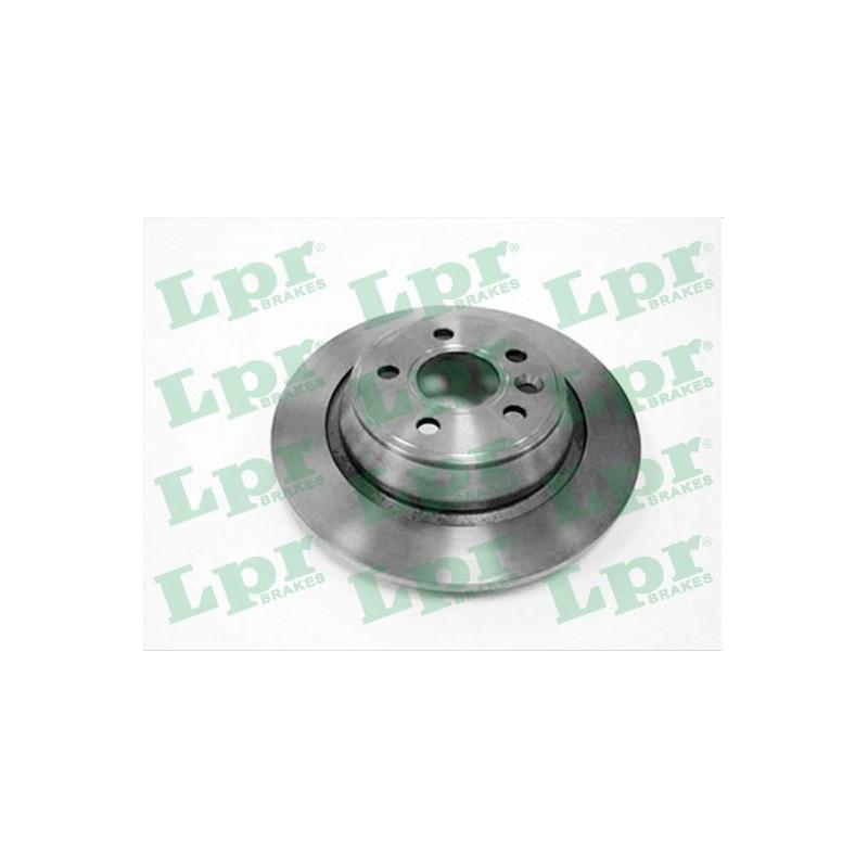 Jeu de 2 disques de frein arrière LPR [F1018P]