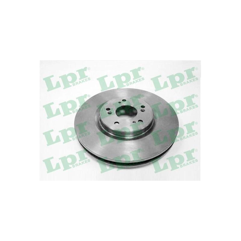 Jeu de 2 disques de frein avant LPR [H1034V]