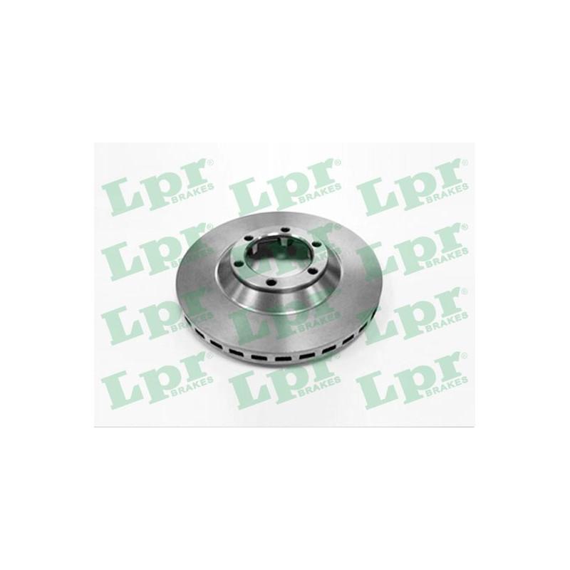 Jeu de 2 disques de frein avant LPR [H2111V]