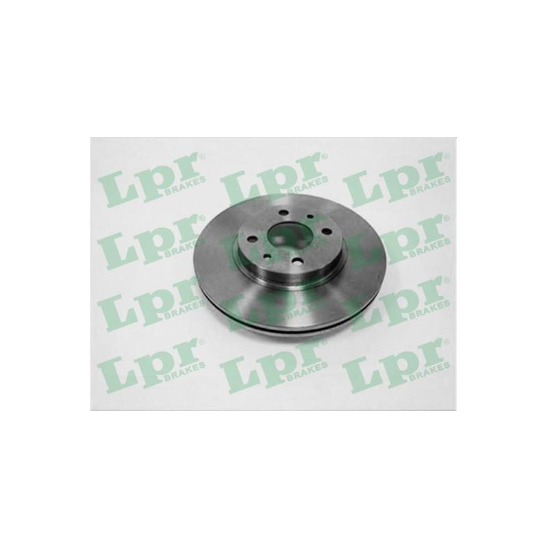 Jeu de 2 disques de frein avant LPR [L2051V]