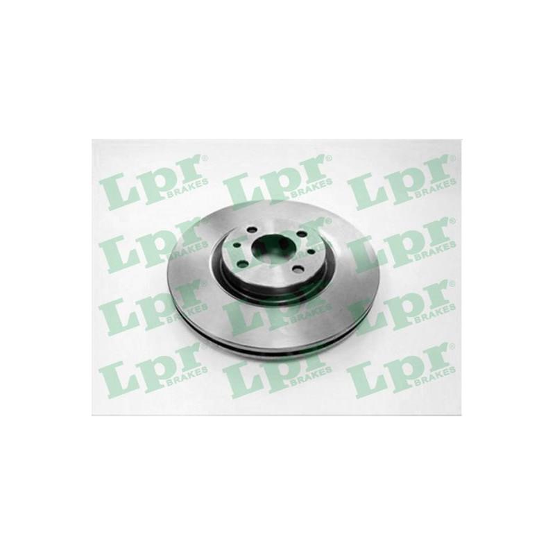 Jeu de 2 disques de frein avant LPR [L2081V]