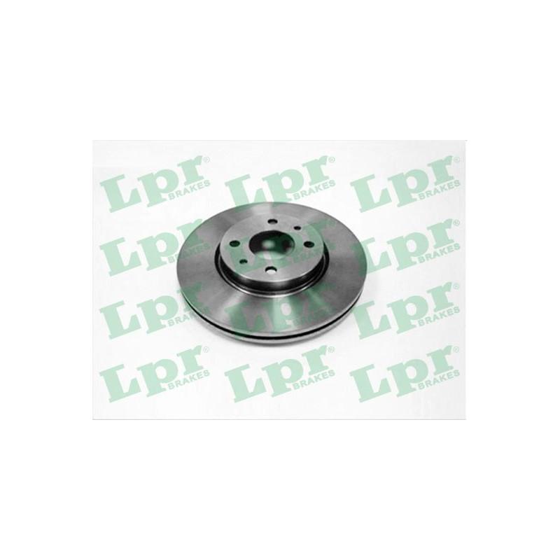 Jeu de 2 disques de frein avant LPR [L2121V]